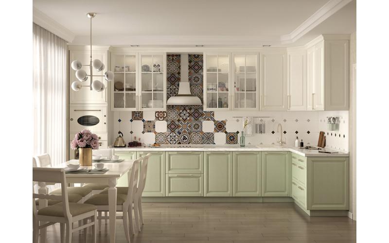 """Классическая кухня """"Dream"""" с фасадами из натурального дерева"""