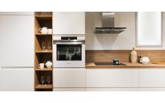 Levity - современная кухня с крашеными глянцевыми фасадами.