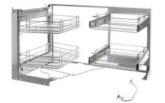 Выдвижной угловой  механизм для модуля с фасадом 450
