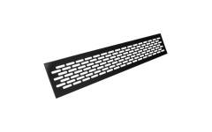 Решітка вентиляційна REJS 80 х 480 алюміній чорна