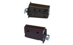 Подвес левый коричневый (подвес мебельный) Scilm