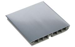 Цоколь пластиковый под алюминий H=100мм L=3000мм